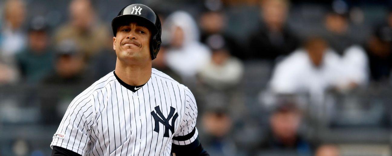 Stanton sufre revés en regreso a los Yankees