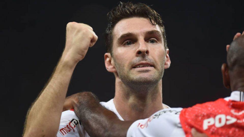 Boselli agradece a Ralf e vibra com primeiro gol na Arena: 'É muito lindo'