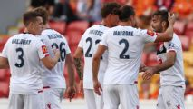 Adelaide win eight-goal thriller vs. Brisbane to seal A-League home final