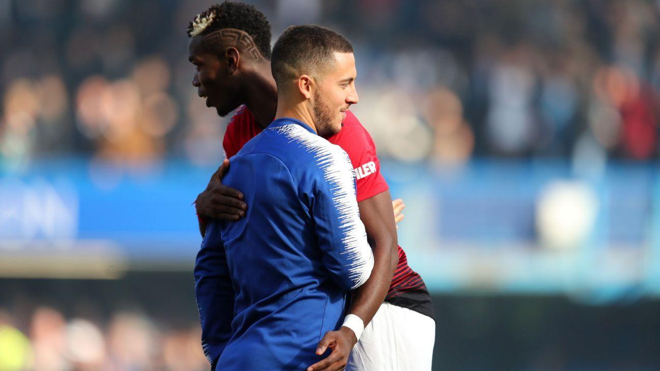 Seis jogadores do Manchester City e Pogba dentro, Hazard e Salah de fora: veja como ficou a seleção da temporada da Premier League