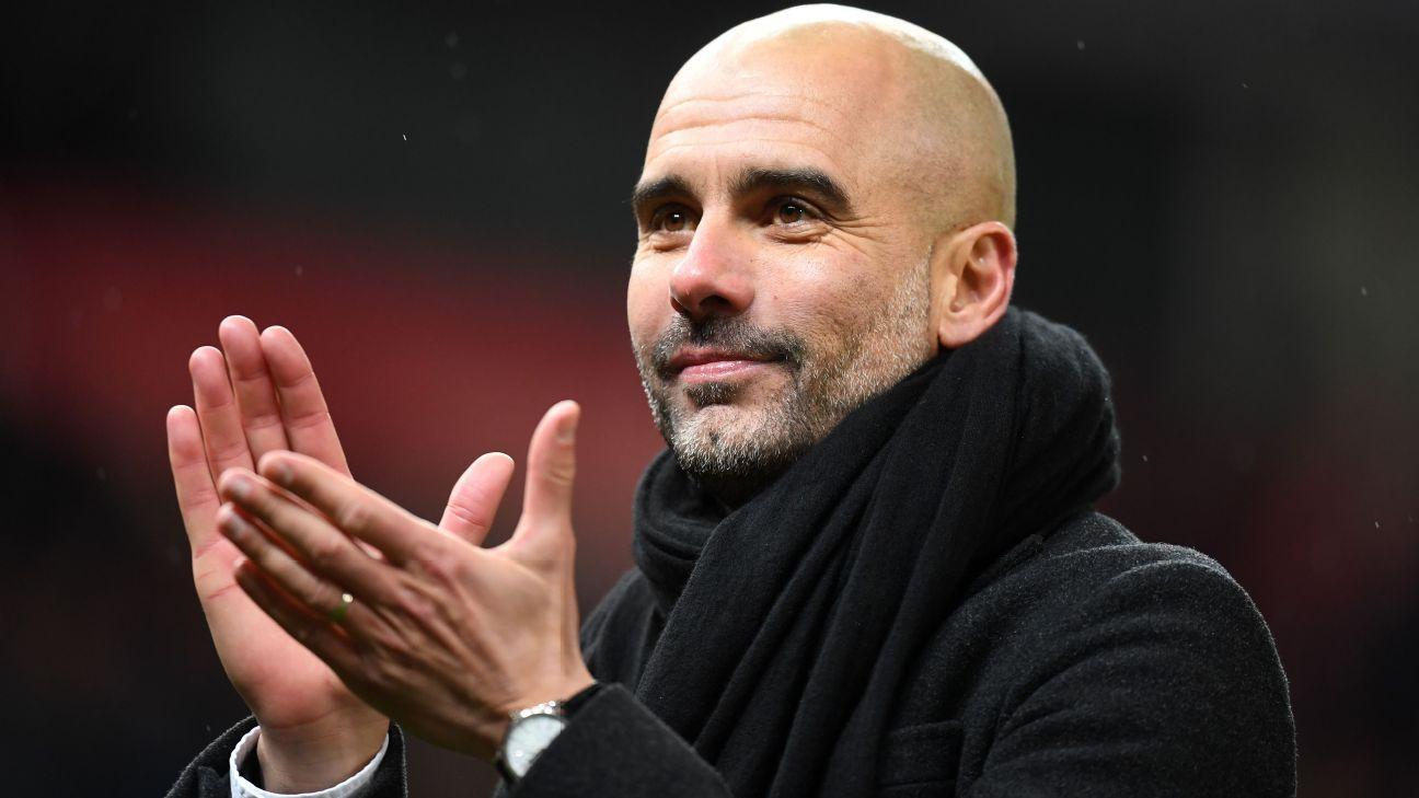 Guardiola se derrete por temporada de jogador do City: 'Obra-prima'