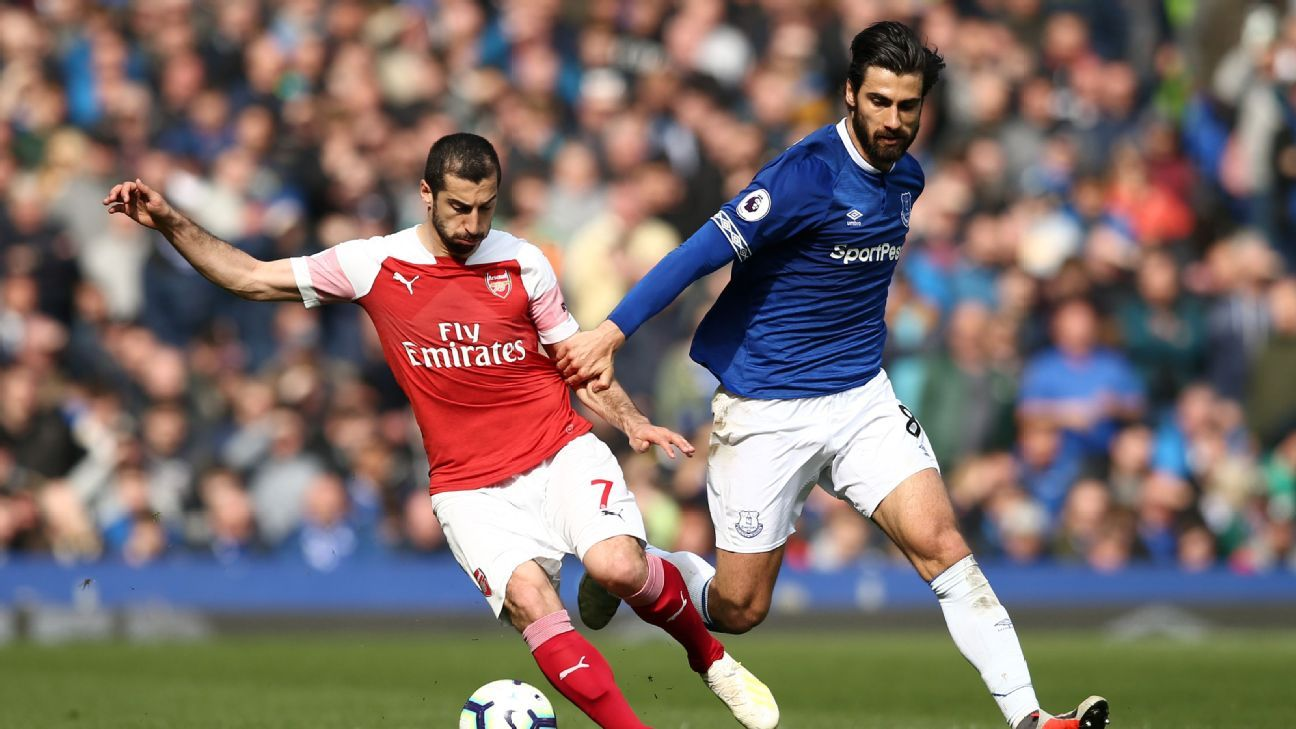 Arsenal to rival Everton for Barcelona's Gomes - sources