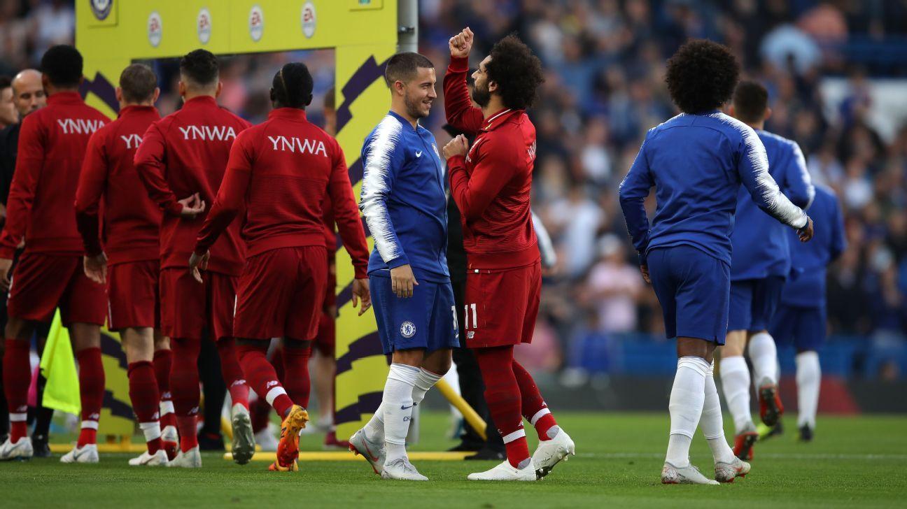 Salah y Hazard, grandes ausentes en el XI ideal de la Premier