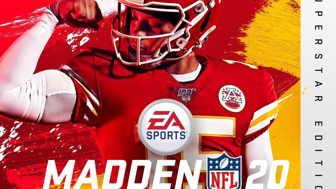 El quarterback de Chiefs, Patrick Mahomes, es la portada de Madden 20