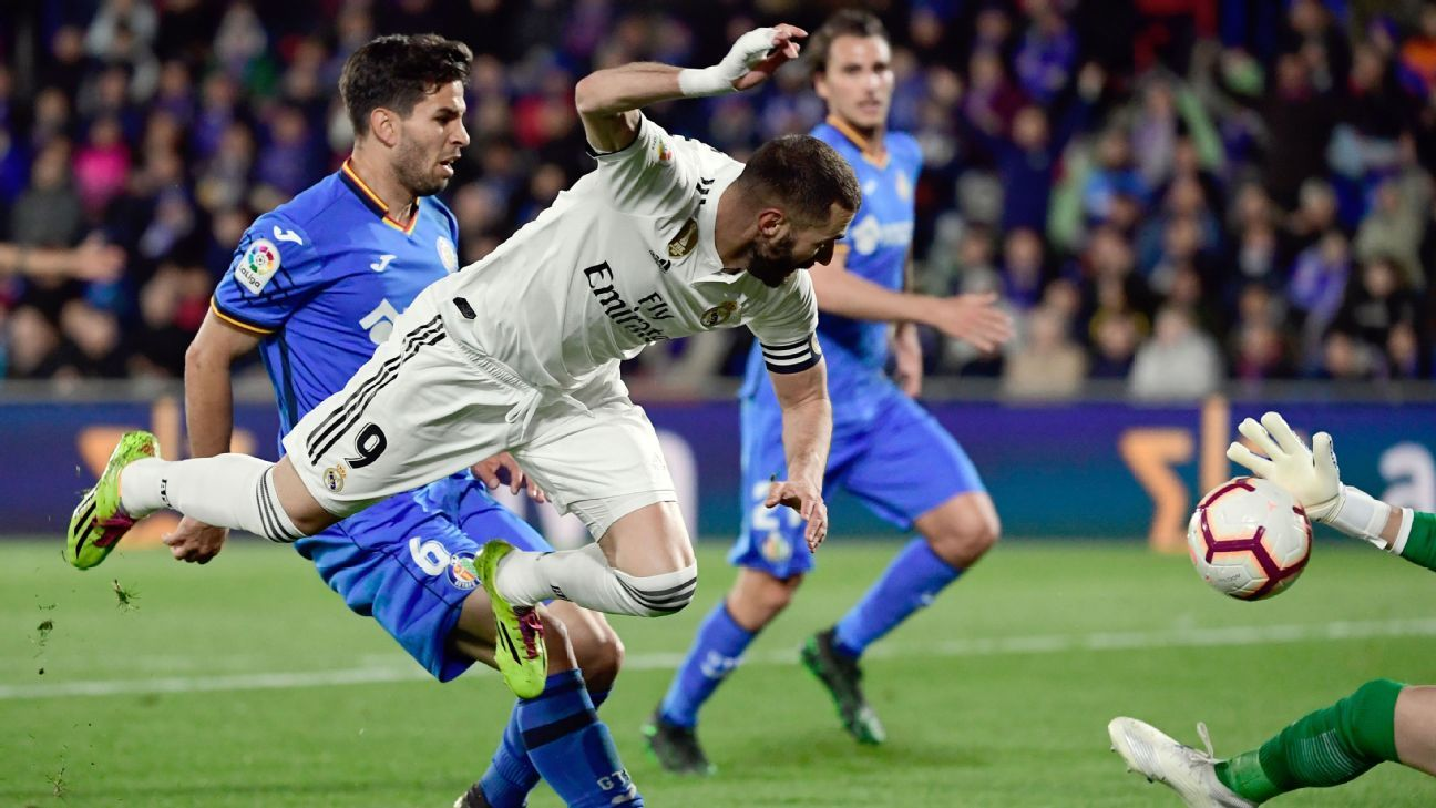 Real Madrid play to draw as Getafe keep Champions berth hopes alive