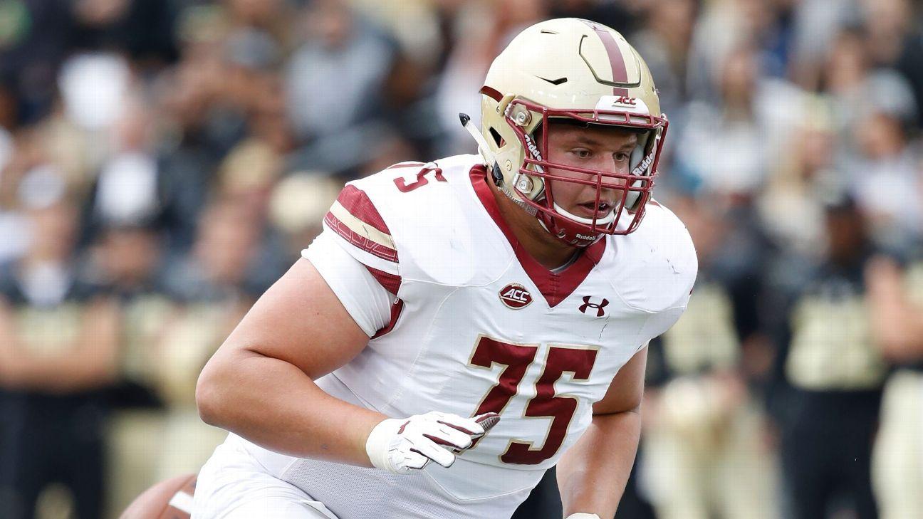 Falcons voltean a la línea ofensiva en primera ronda del Draft 2019