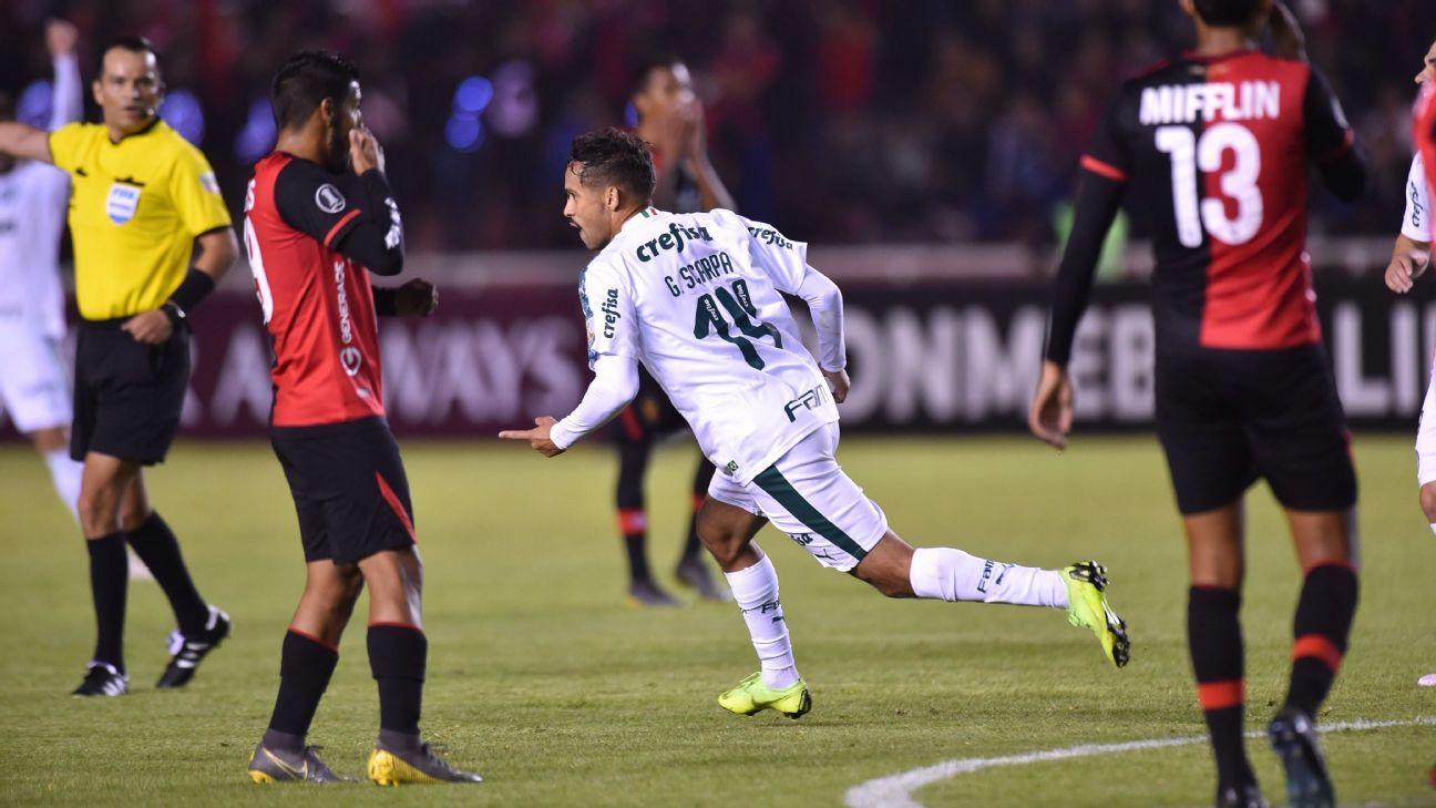 Palmeiras faz 4 a 0 no Melgar, recupera liderança e garante classificação na Libertadores