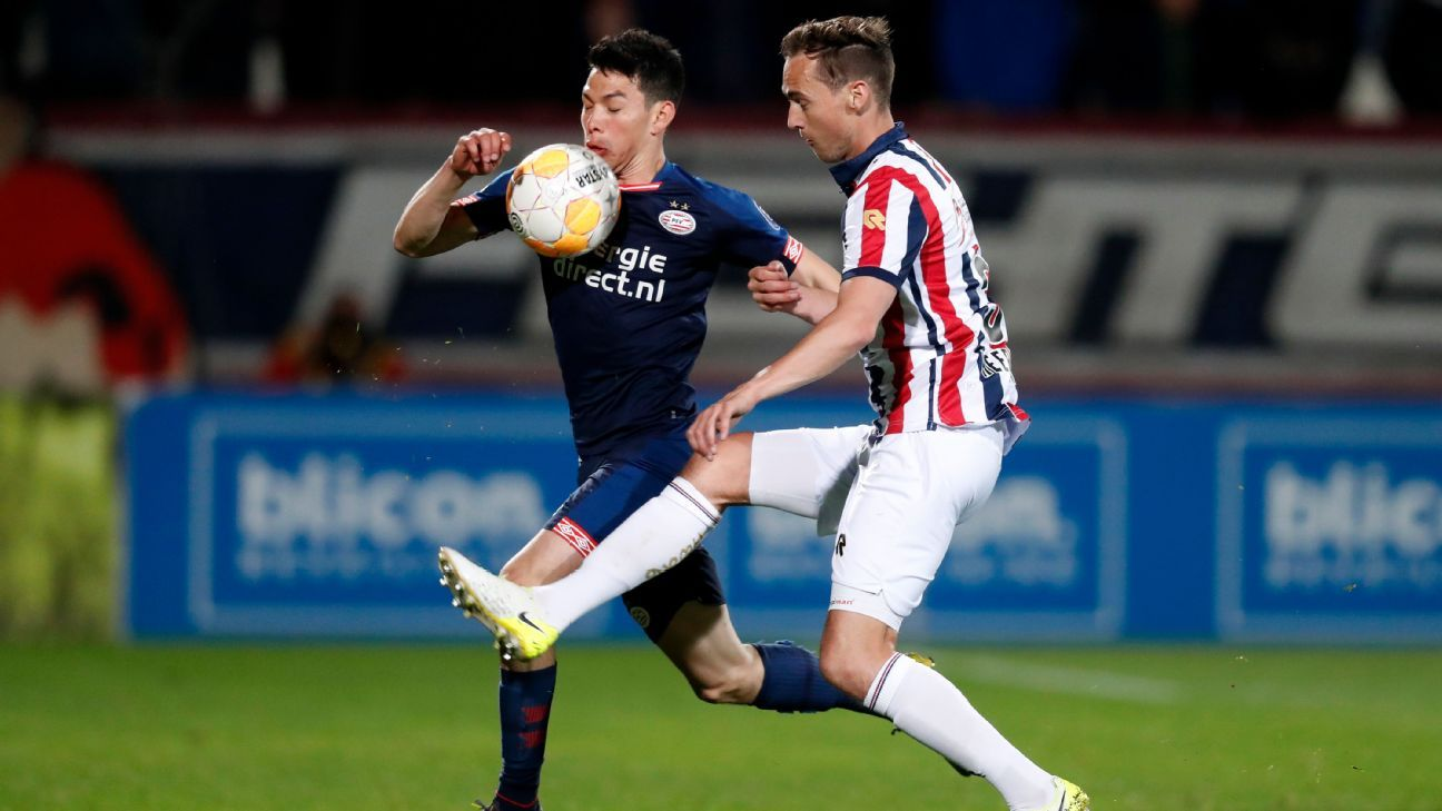 Futbolista del Willem II se disculpa con Hirving Lozano tras lesión