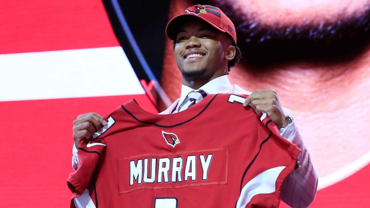 Draft da NFL: Kyler Murray é 1º selecionado e vai para os Cardinals, e Giants escolhem substituto de Eli Manning