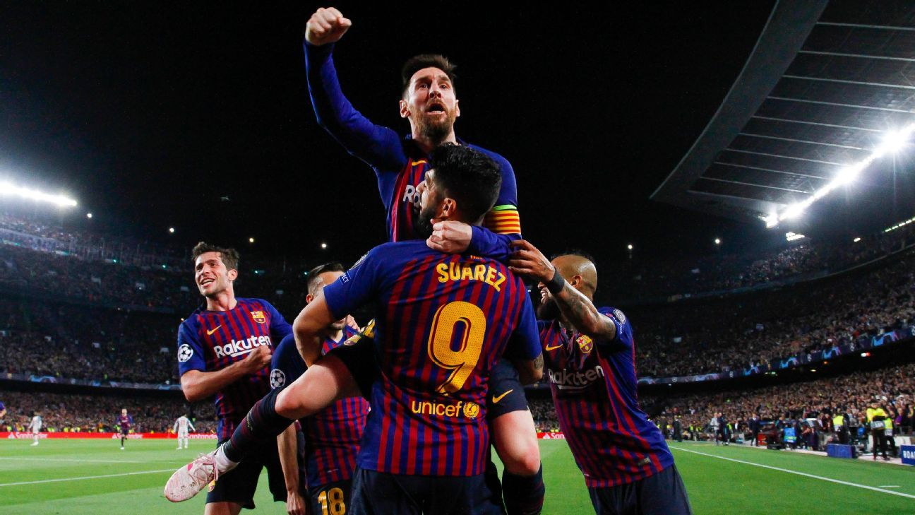 Barcelona felicitó a Messi por su sexta Bota de Oro