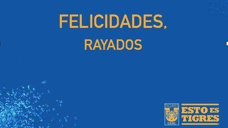 Tigres felicita a Rayados tras 24 horas de caer en final de Concacaf