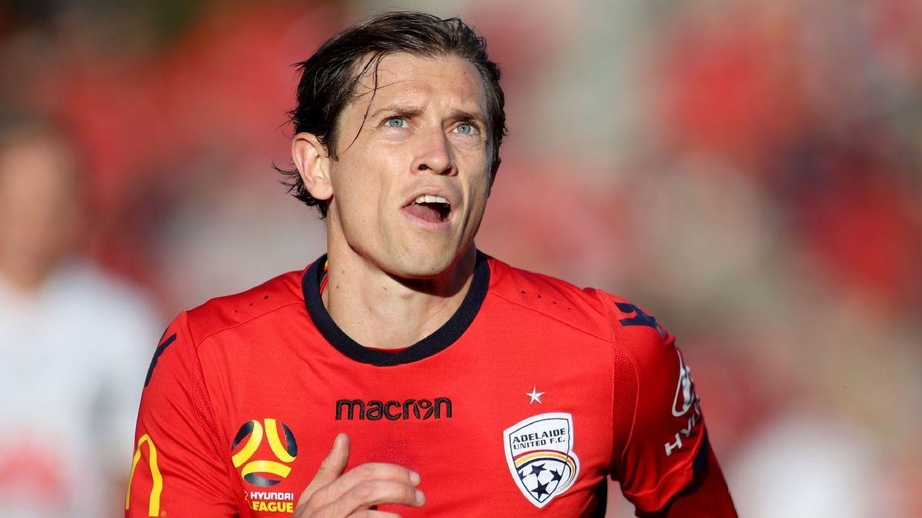 Adelaide United narrowly avoid lightning strike at training