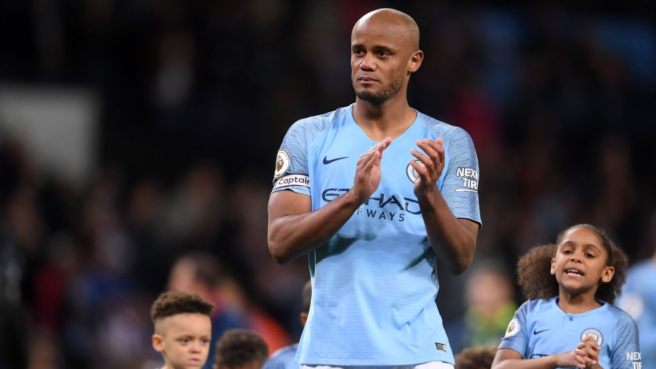 Kompany to leave Man City, join Anderlecht