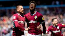 Aston Villa recover to beat West Brom in Championship playoff first leg