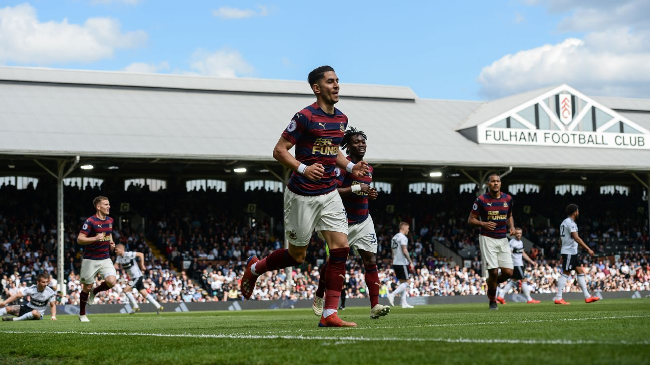 Fulham thrashed by Newcastle in final Premier League appearance