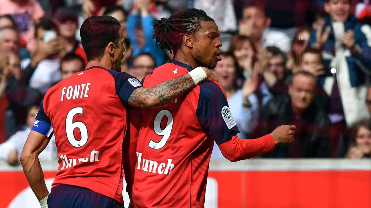 Lille beat Bordeaux to tight grip on UCL place