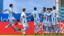 Real Madrid suffer defeat at Real Sociedad as Jesus Vallejo sees red