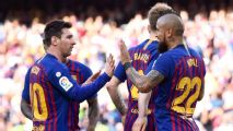 Barcelona booed in home win against Getafe after UCL flameout