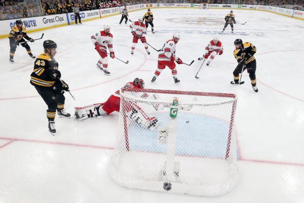 Canes eat 'poop sandwich' after Bruins thumping