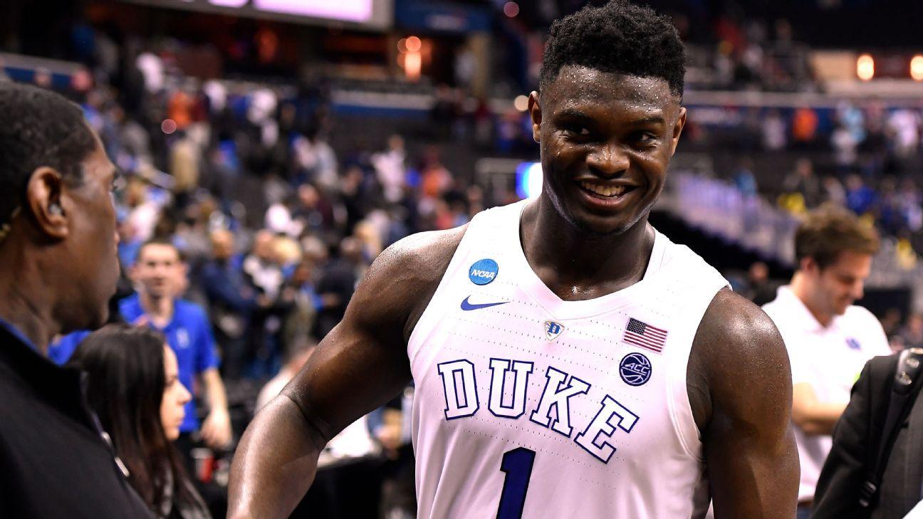 Da escola ao Draft da NBA, a história de Zion Williamson