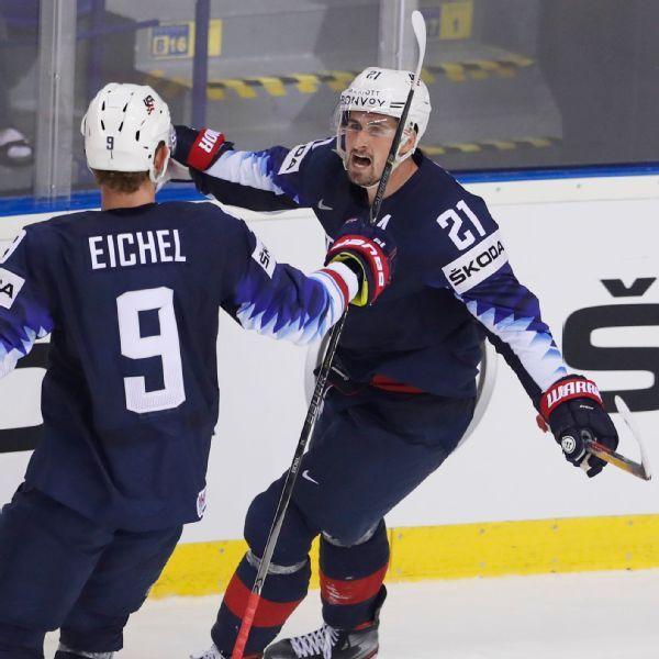 Larkin lifts U.S. past Finland in OT at worlds
