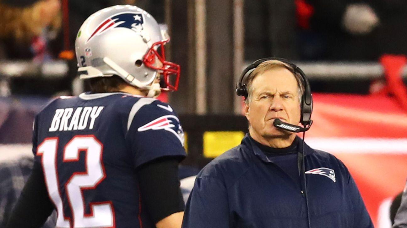 Ex-Patriots lembra bronca de Belichick em Brady: 'Se não pensasse na capa de revista com Gisele talvez acertasse o passe'