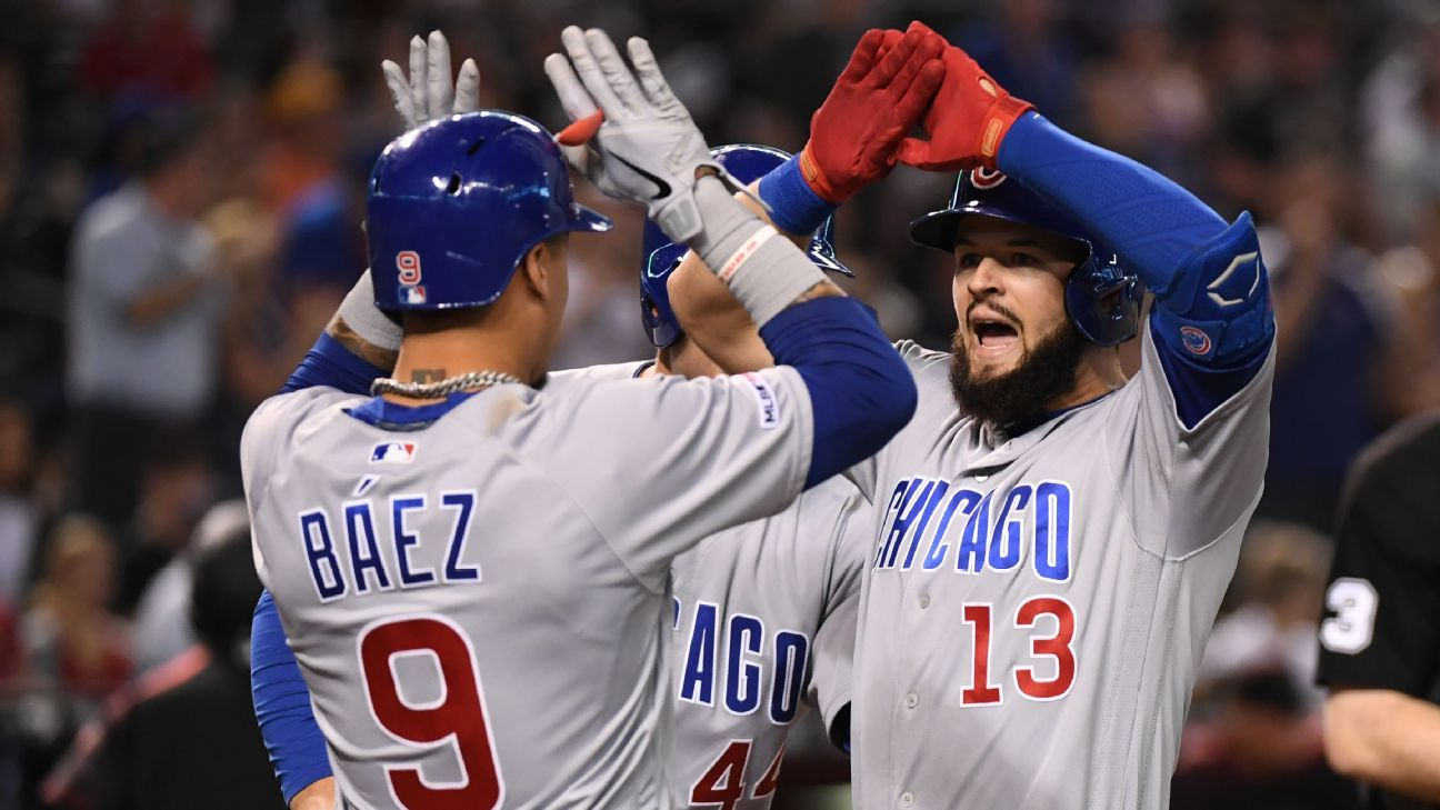 Rotación de tres: Nationals y Cubs, por distintos caminos