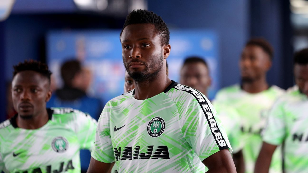 Mikel returns to Nigeria squad ahead of Africa Cup of Nations