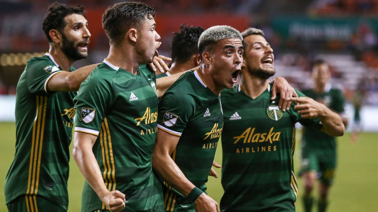 Newcomer Fernandez lifts Timbers to draw with Dynamo
