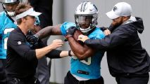 Undrafted Elijah Holyfield has a fighter's chance to make Panthers
