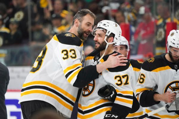 Bruins expect Chara to be ready for Game 1