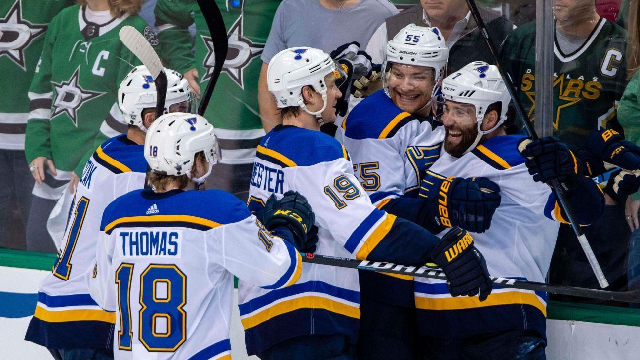 Blues' fun-loving energy line lacks nickname but drives success