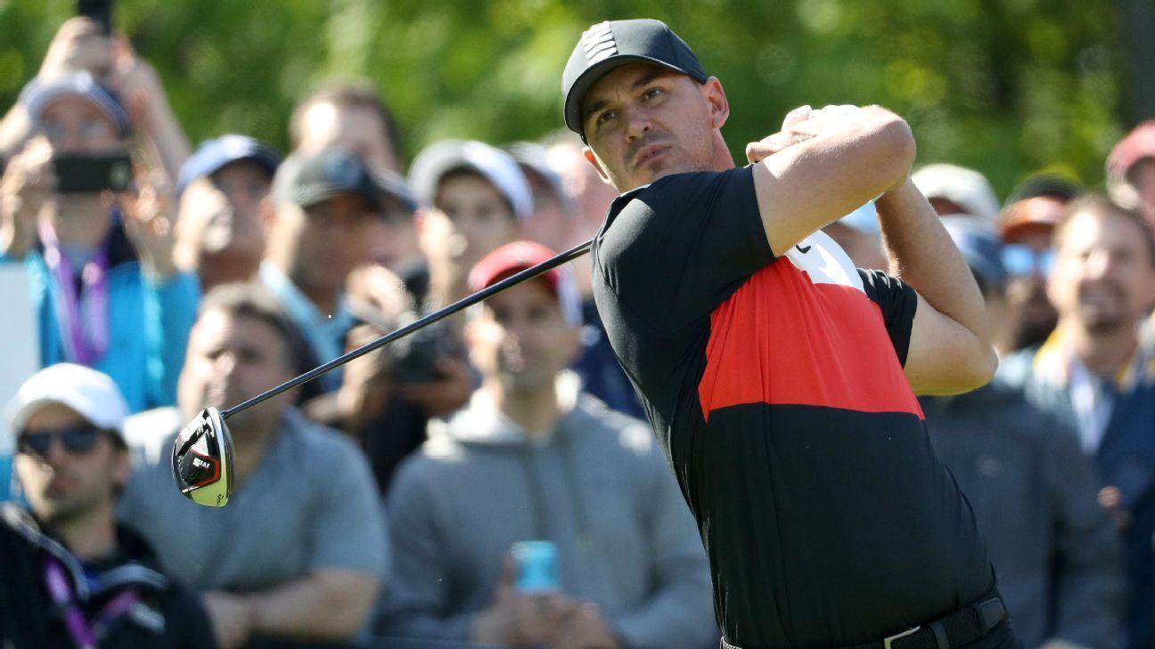 Koepka lidera el PGA Championship con una vuelta record de 63 golpes