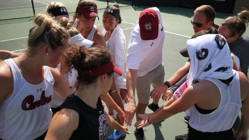 South Carolina's season ends in quarterfinals