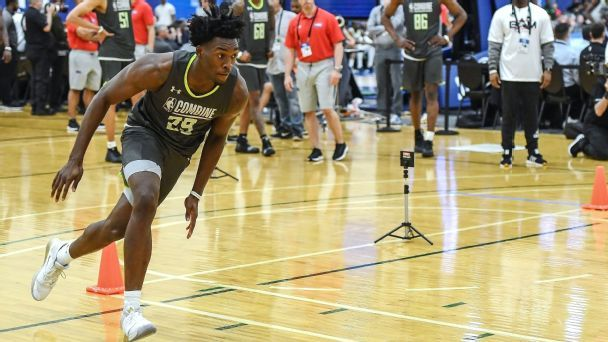 NBA draft combine: Risers, fallers and more intel