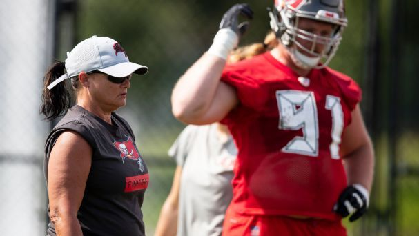 'They're just coaches': Bucs female assistants make early impression