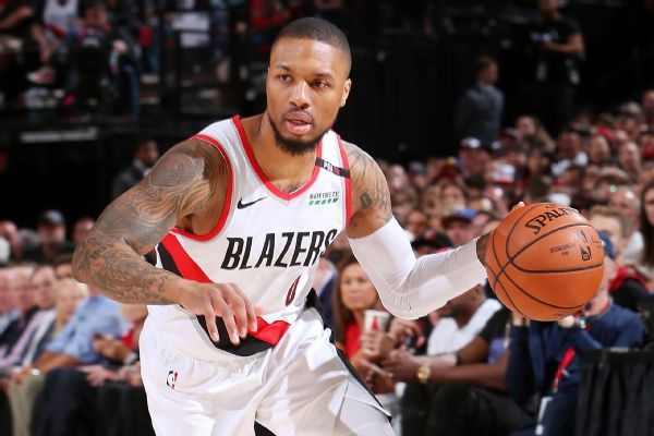 Lillard stays cold vs. Warriors' 'wall of defense'