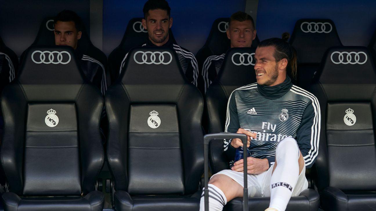 Zidane left Bale on bench because of attitude