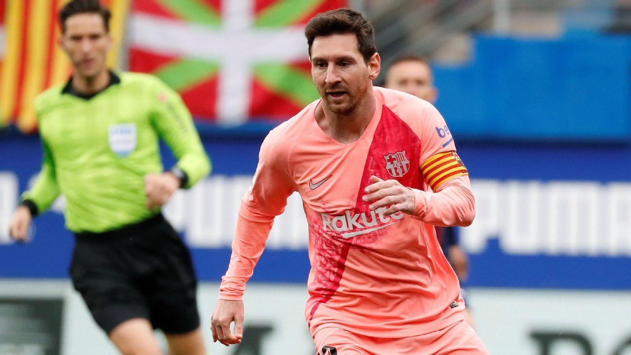 Messi deja atrás a Hugo Sánchez y es máximo goleador por sexta vez