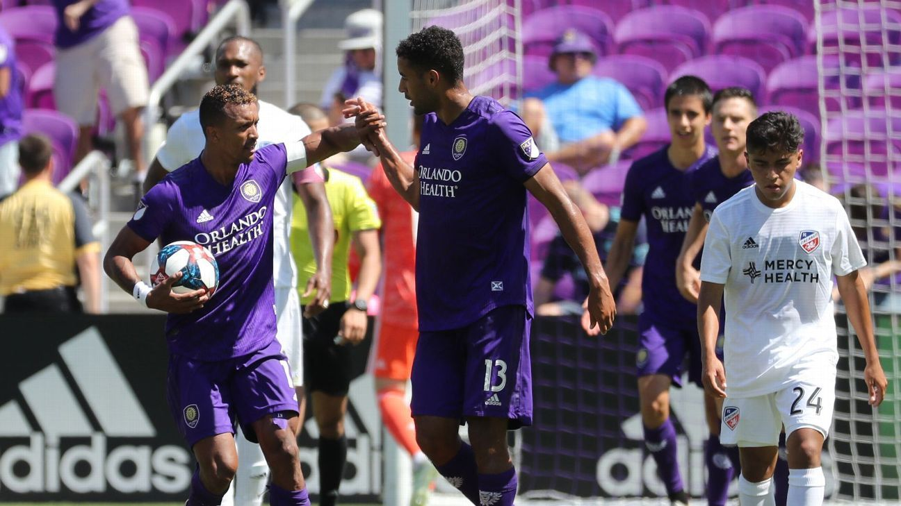 Nani double sees Orlando City past FC Cincinnati