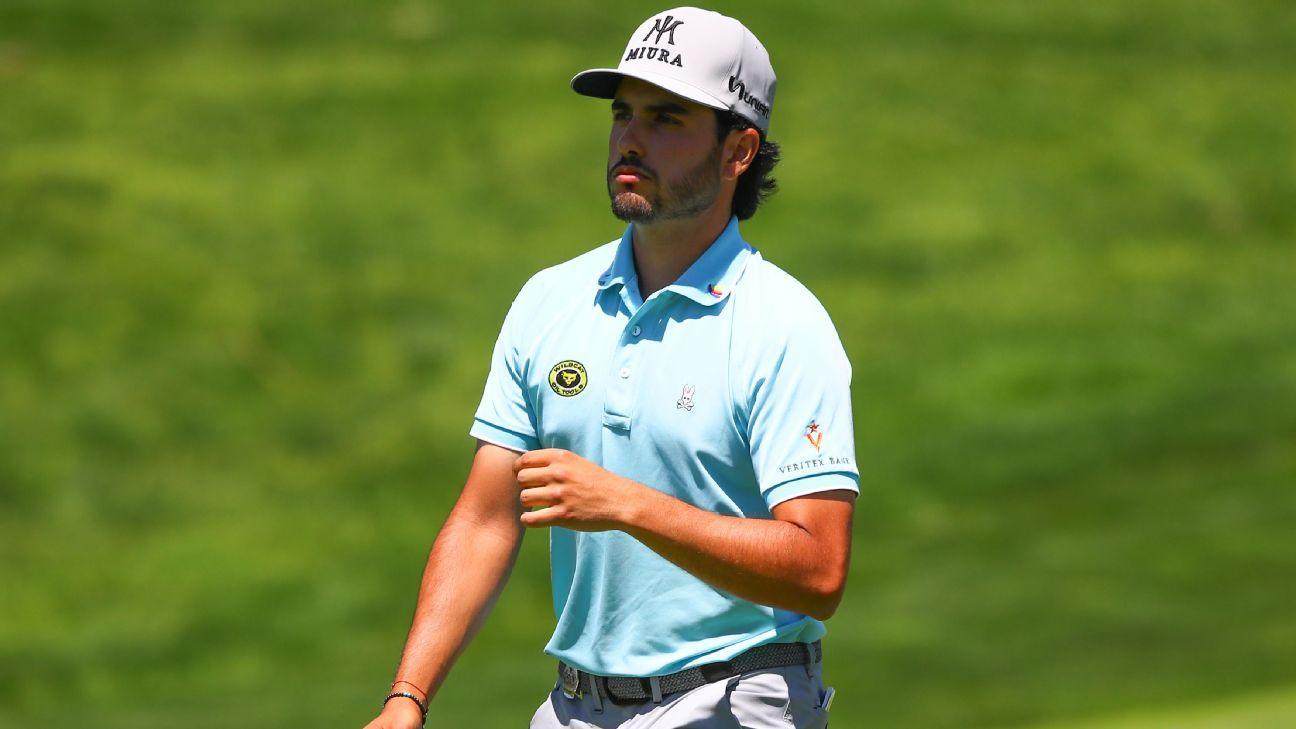 Mexicano Abraham Ancer destaca en el Campeonato de la PGA