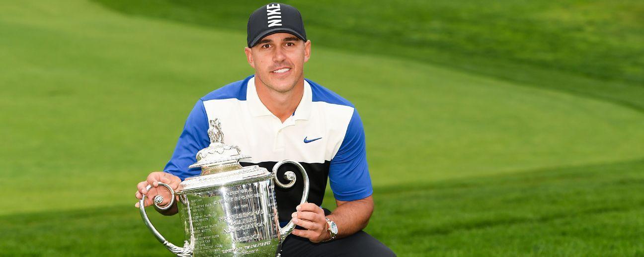 Koepka se coronó campeón del PGA Championship