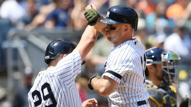 Yankees are ready to romp after seizing division lead