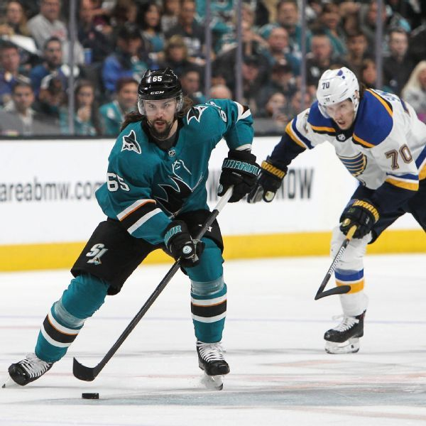 Injuries leave Sharks sputtering against Blues