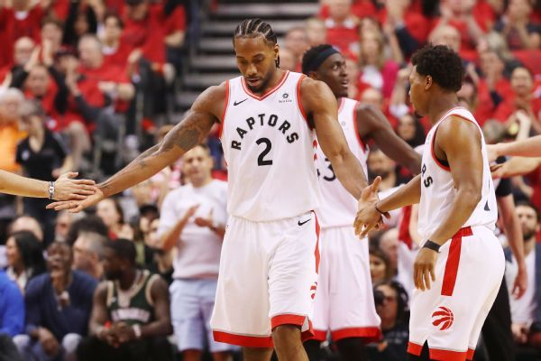 Lowry playing through pain, Kawhi 'feeling good'