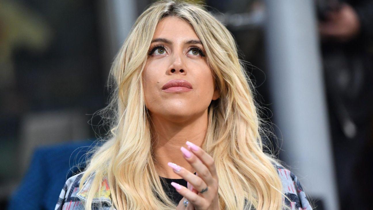 Comentarista diz que gol de Icardi foi 'inútil' e Wanda Nara perde a linha: 'A vagina da sua irmã é inútil'