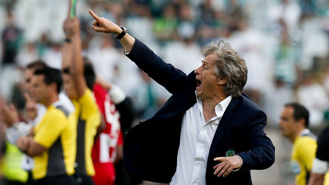 Após acompanhar jogo em BH, Jorge Jesus pede uma semana para responder oferta do Atlético-MG