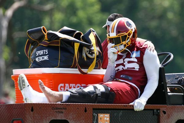 Source: Redskins' Foster (ACL) done for season