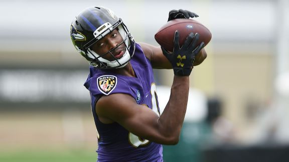 Ravens' Miles Boykin brings sure hands after years of breaking fingers
