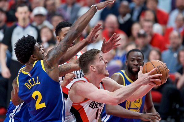 Blazers swept despite big minutes-led advantage